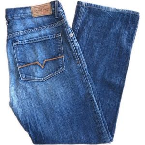 """Vintage Guess """"the Dean"""" straight leg jeans"""
